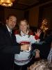 Robet (Bob) Nantel & Annie Houle avec le chandail du Canadien autographié par tous les joueurs.